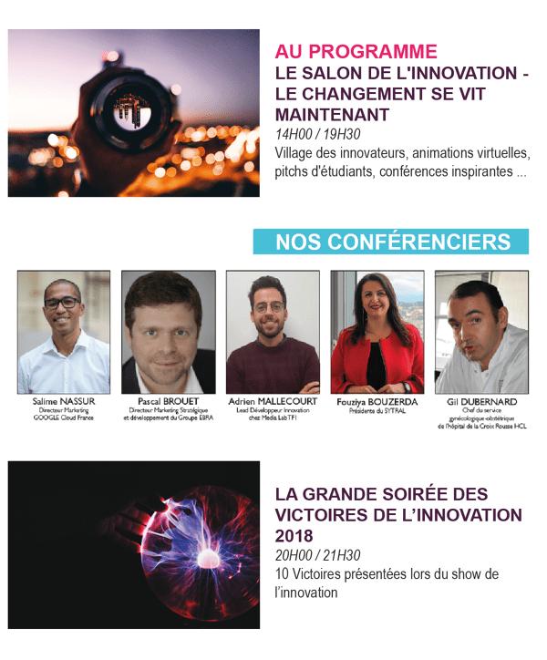 CONNEXION Y Les victoires de l'innovation Lyon 2018