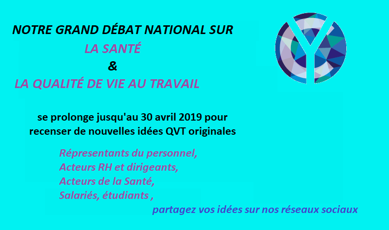 grand débat national sur la QVT