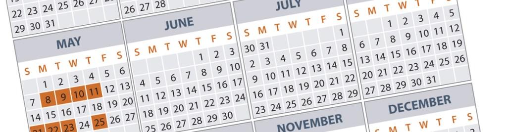 Information Governance Calendar