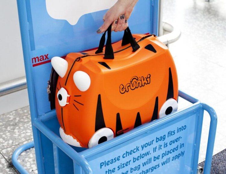 maleta de mano para niños Trunki