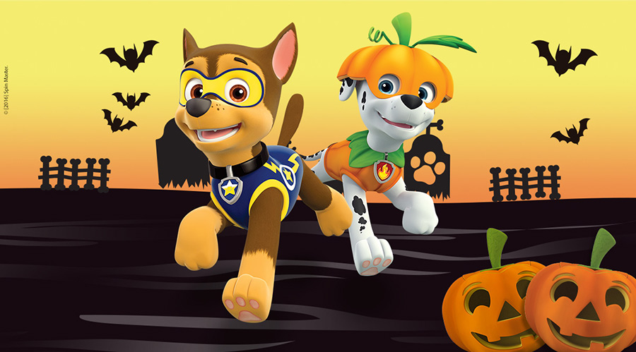 Resultado de imagen de halloween patrulla canina