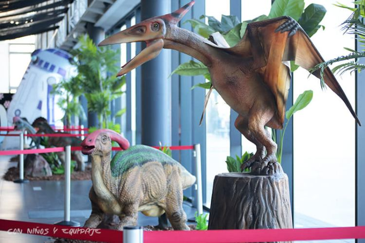 Dinosaurios Feria Exponadal Alicante