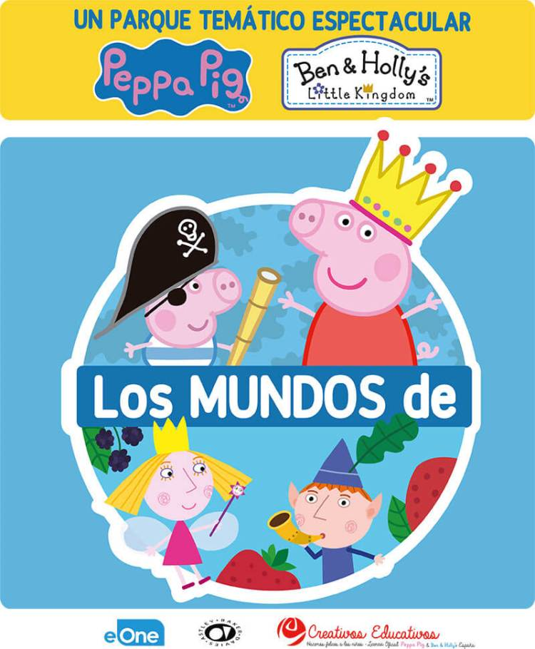Peppa Pig y Ben & Holly