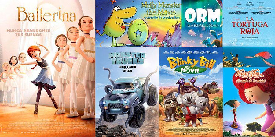 estrenos de cine para niños de enero 2017