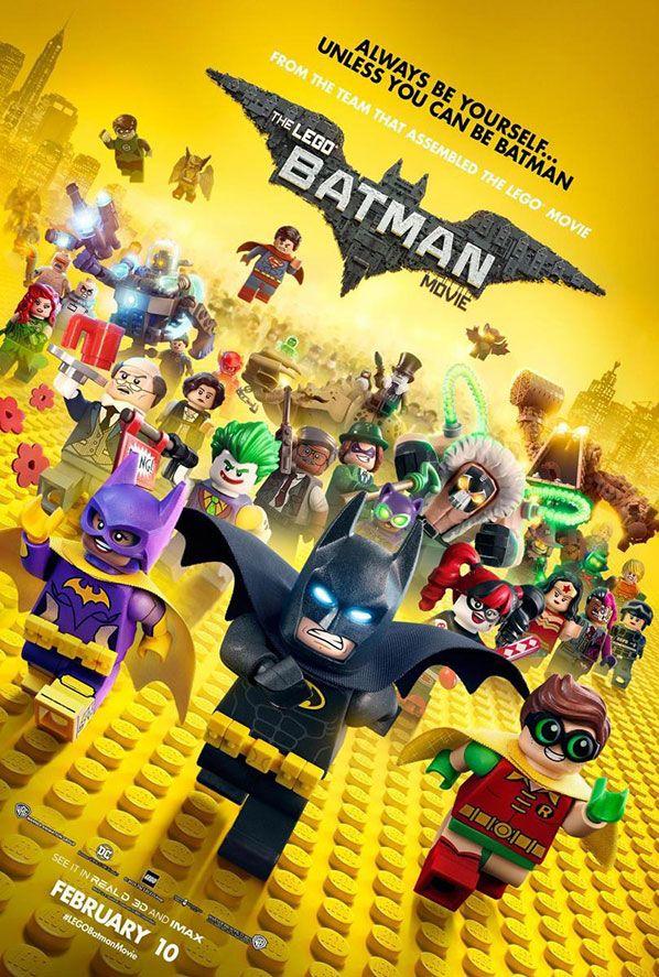 Estrenos de Cine para Niños - Batman: La Lego Película