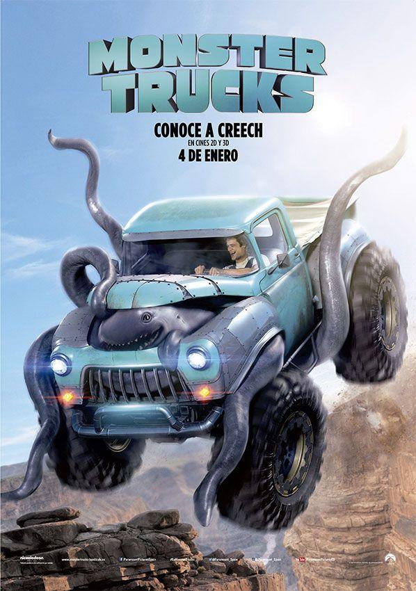 estrenos de cine - Monster Trucks