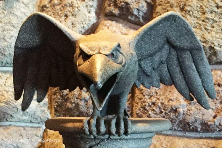 Cuervo de Maléfica del Castillo de la Bella Durmiente