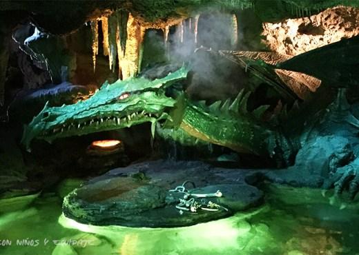 Guarida del Dragón en Disneyland París