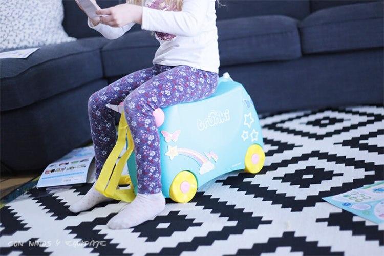 nueva maleta Trunki Unicornio correpasillos