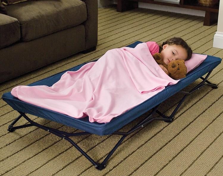 cama plegable para niños