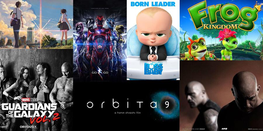 estrenos de cine para niños abril 2017