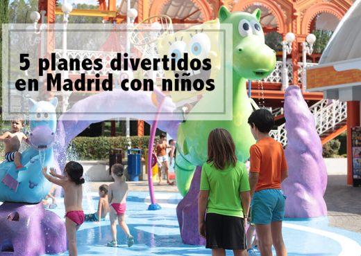 5 planes divertidos con niños en Madrid