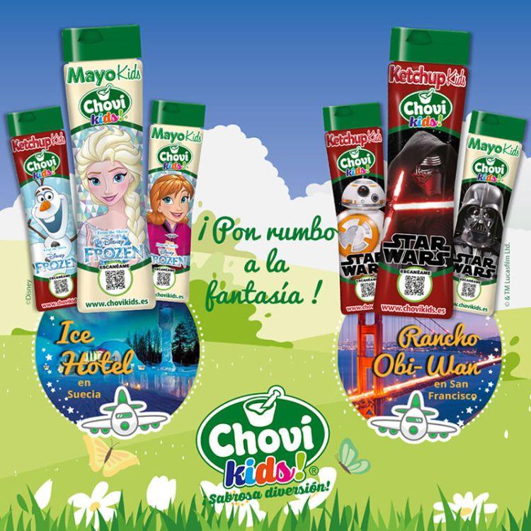 Rumbo a la fantasía Disney con ChovíKids!