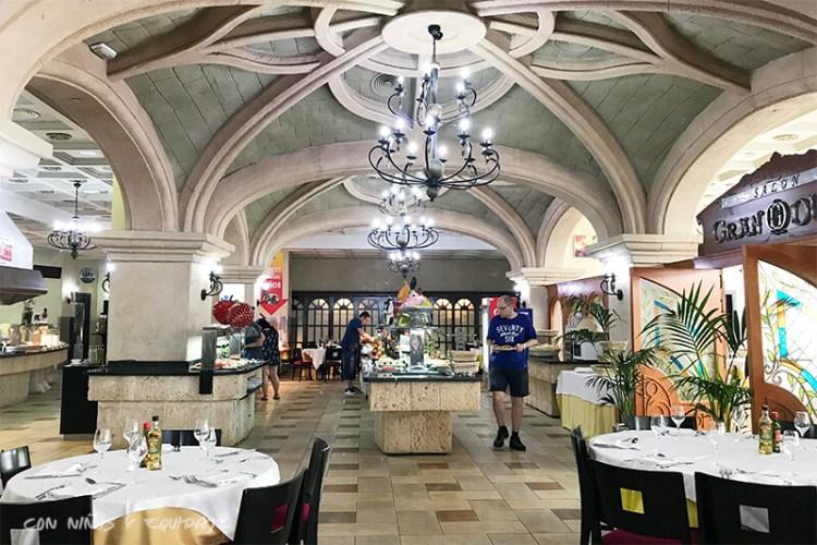 Buffet Libre en Marina D'Or