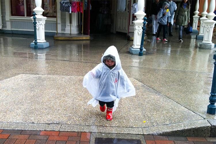 lluvia en Disney