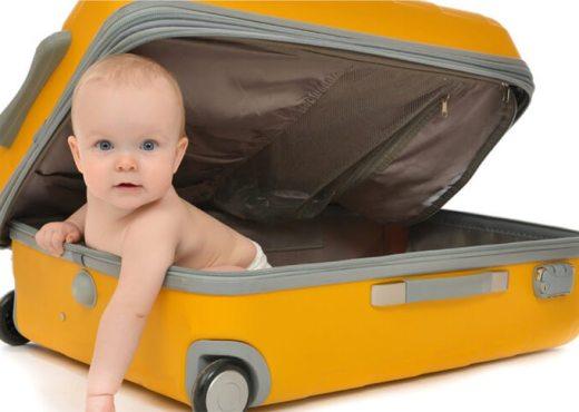 Viajar con bebé e 3 a 6 meses