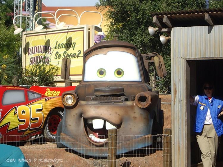 Cars en Disneyland París