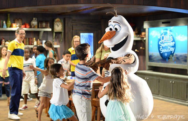 Cruceros Disney Olaf
