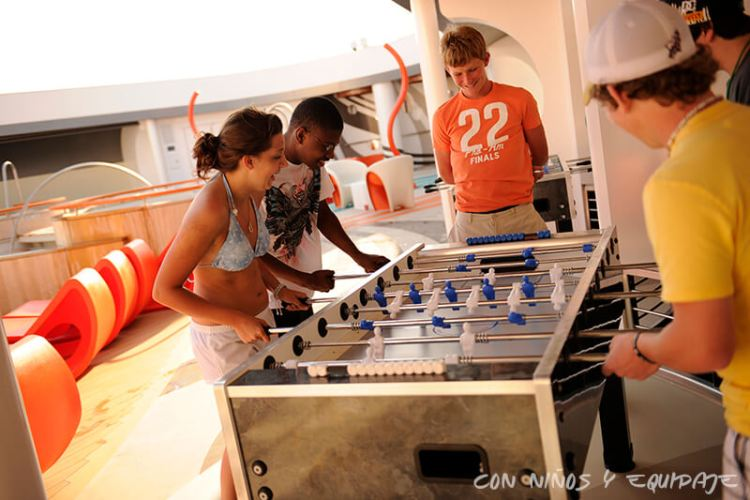 Cruceros Disney para adolescentes
