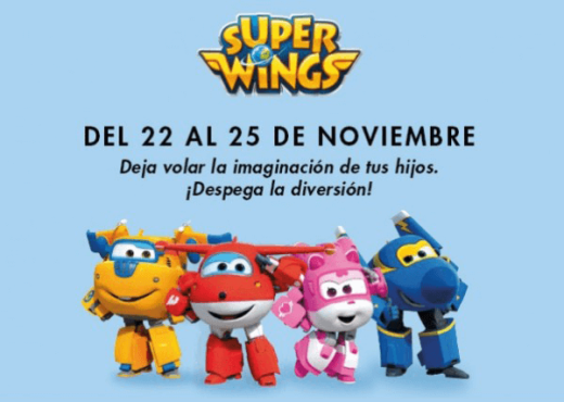 SuperWings en Gran Turia de Valencia