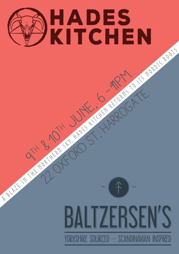 Hades Kitchen @ Baltzersen's Poster
