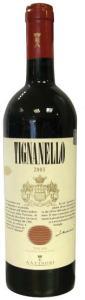 Tignanello Wine bottle