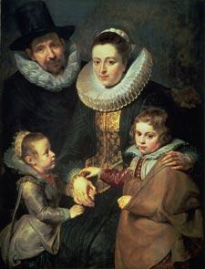 Rubens-Family of Jan Bruegel