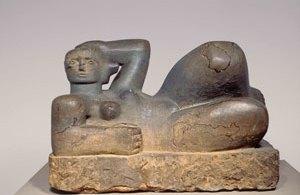Henry Moore - Reclining figure-1929
