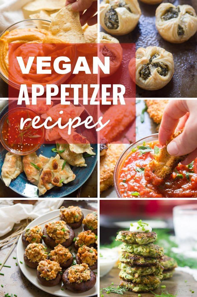 5+ Vegan Appetizers