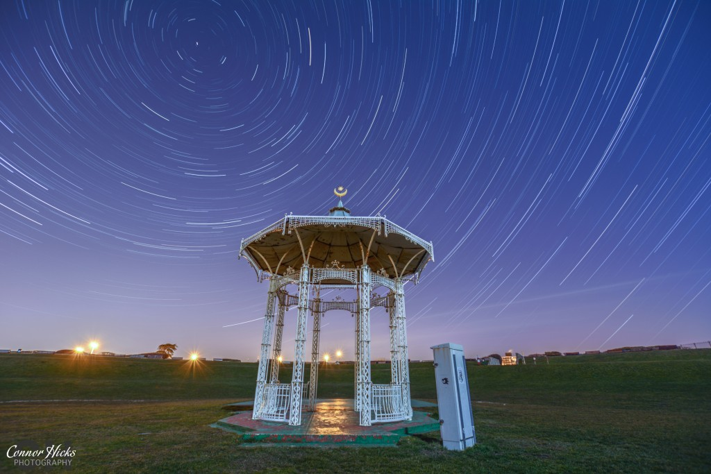 Southsea Bandstand Star Trails 1024x683 Astro