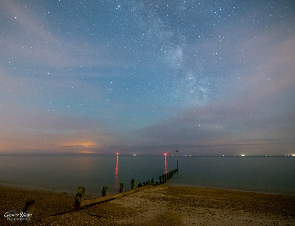 Hayling Island Milky Way Astrophotography Hampshire 1024x784 Astro