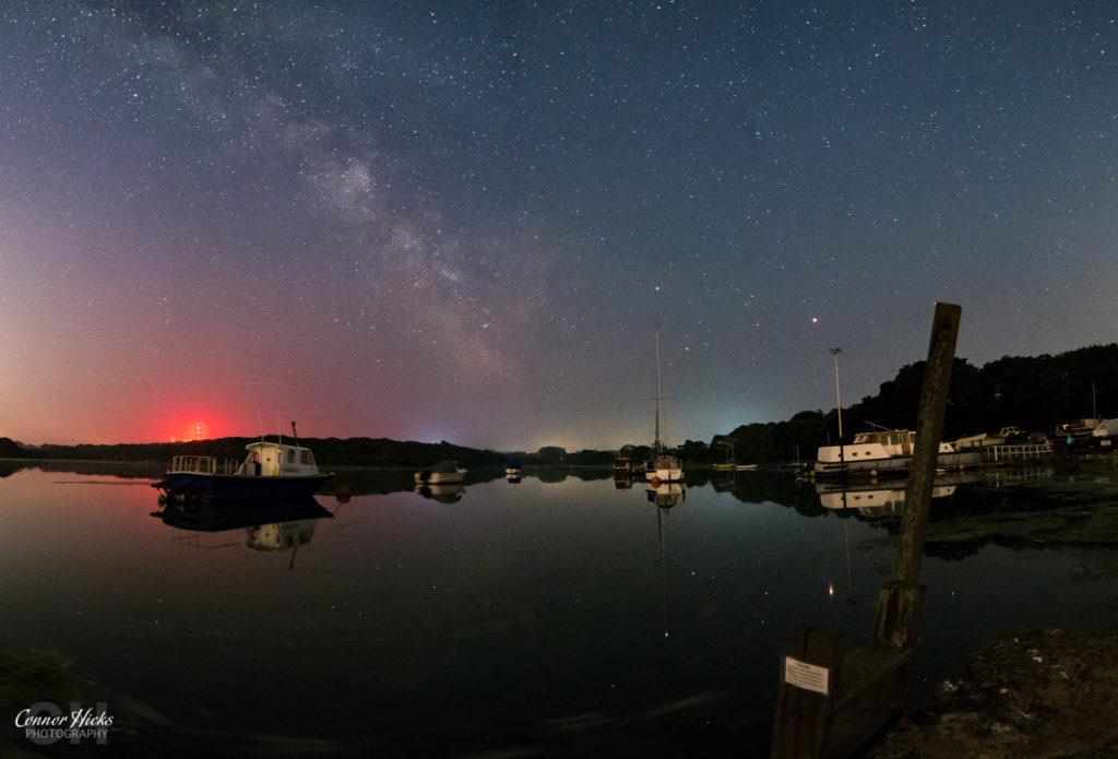 Isle Of Wight Freshwater Bay Milky Way 1024x695 Astro