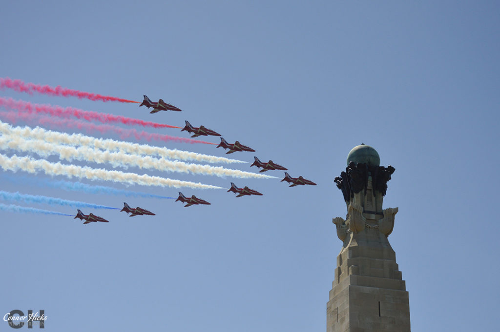 D Day 70 Portsmouth Southsea Hampshire Photography Photographer Red Arrows 1 1024x681 D Day 70 Commemorations, Southsea