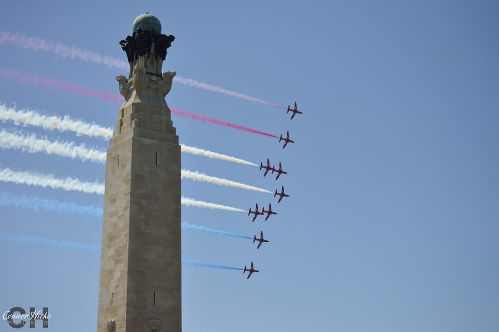 D Day 70 Portsmouth Southsea Hampshire Photography Photographer Red Arrows 8 1024x681 D Day 70 Commemorations, Southsea