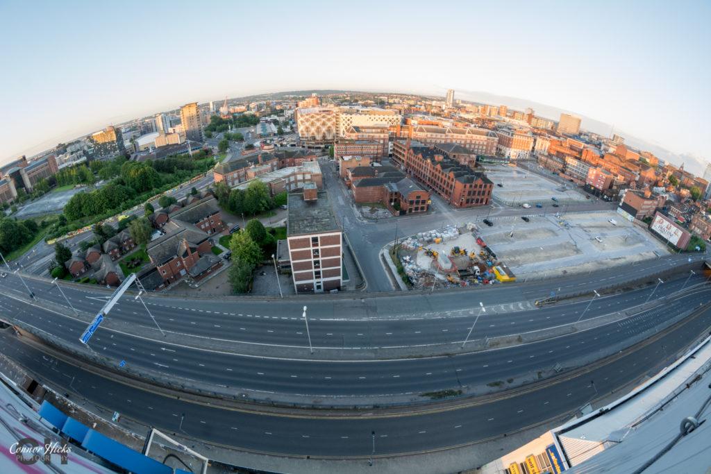 British Gas Rooftop Leeds Urbex 1024x683 British Gas Tower, Leeds