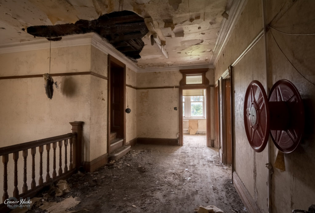 High Royds Asylum Landing 1024x693 High Royds Asylum, Leeds