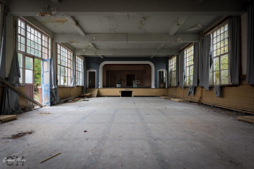 Hall The Green School Urbex 1024x683 The Green School, Belgium