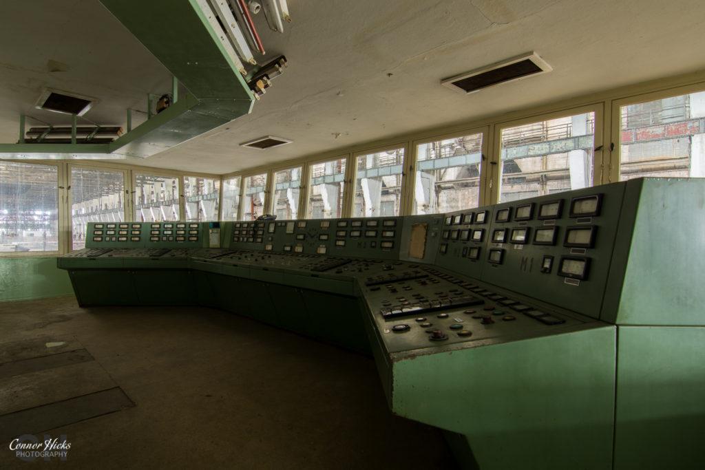 turbine control room kraftwerk v 1024x683 Kraftwerk V, Germany