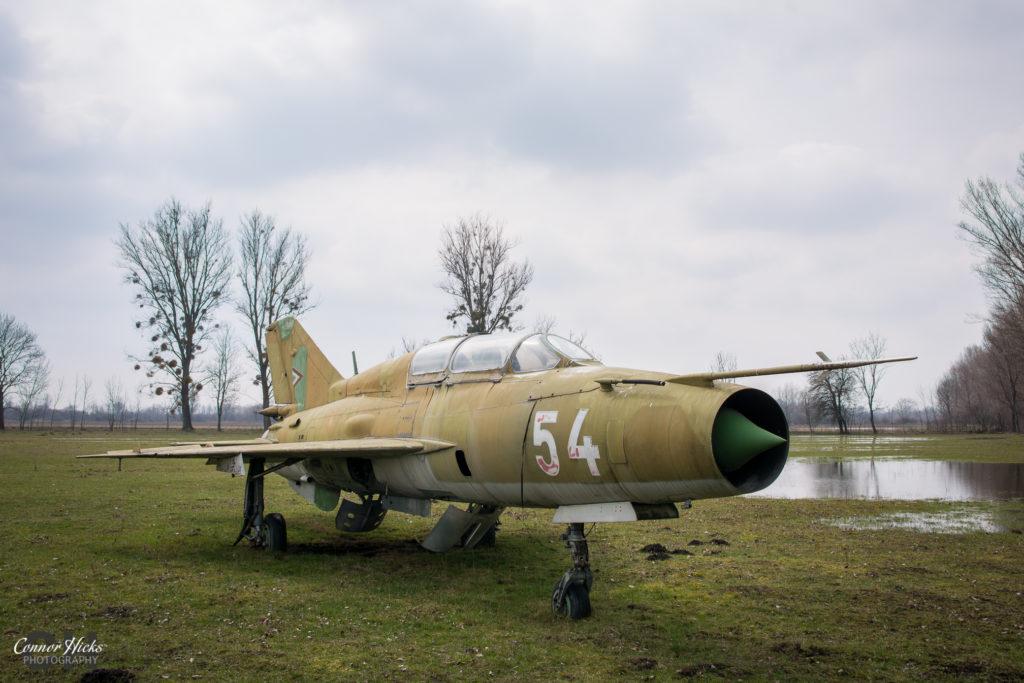 hungary mig urbex planes 1024x683 Plane Graveyard, Hungary