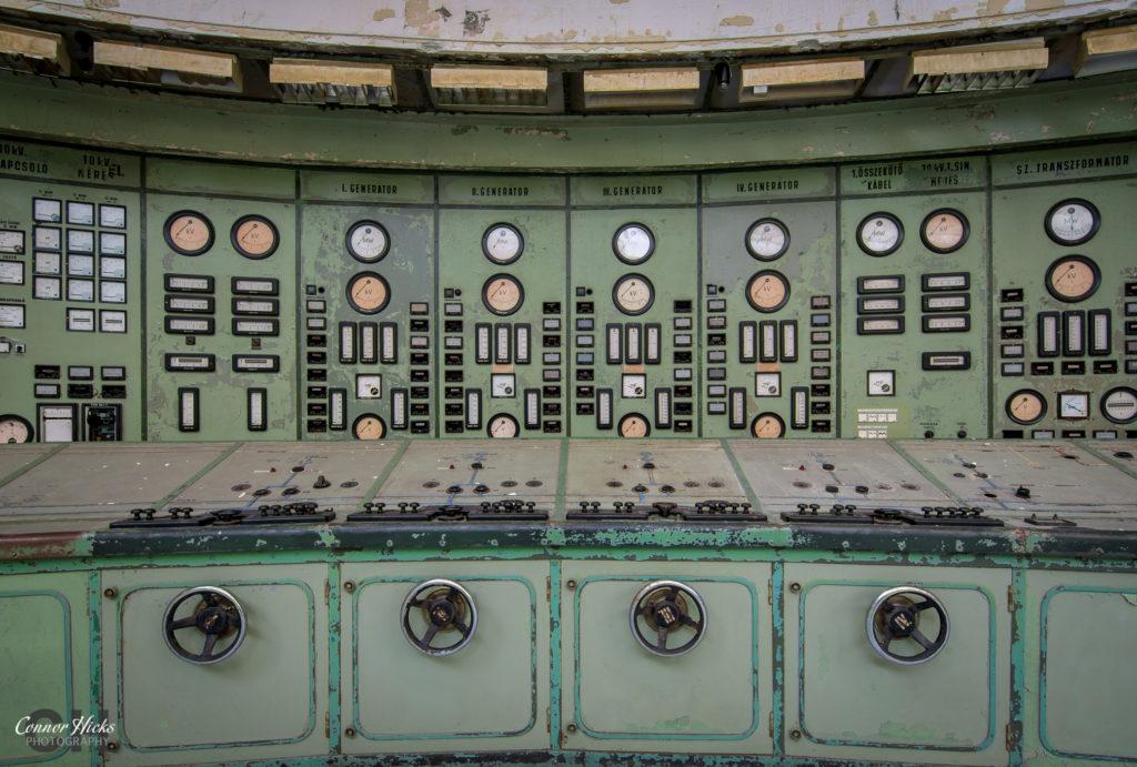 kelenfold urbex control room 1024x691 Kelenföld Power Station, Hungary