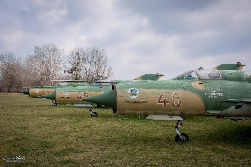 migs hungary urbex planes 1024x683 Plane Graveyard, Hungary