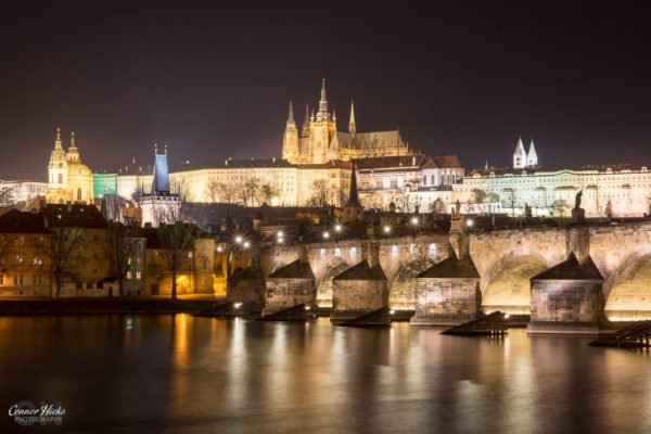 prague night photography castle charles bridge 1024x683 Travel
