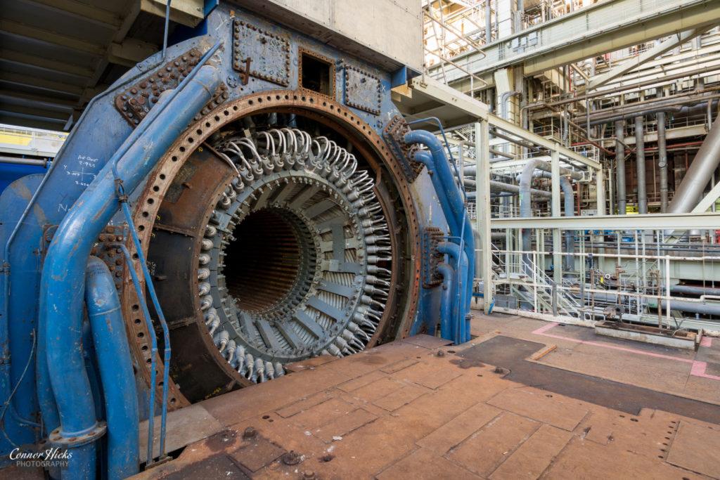 turbine fawley power station 1024x683 Fawley Power Station
