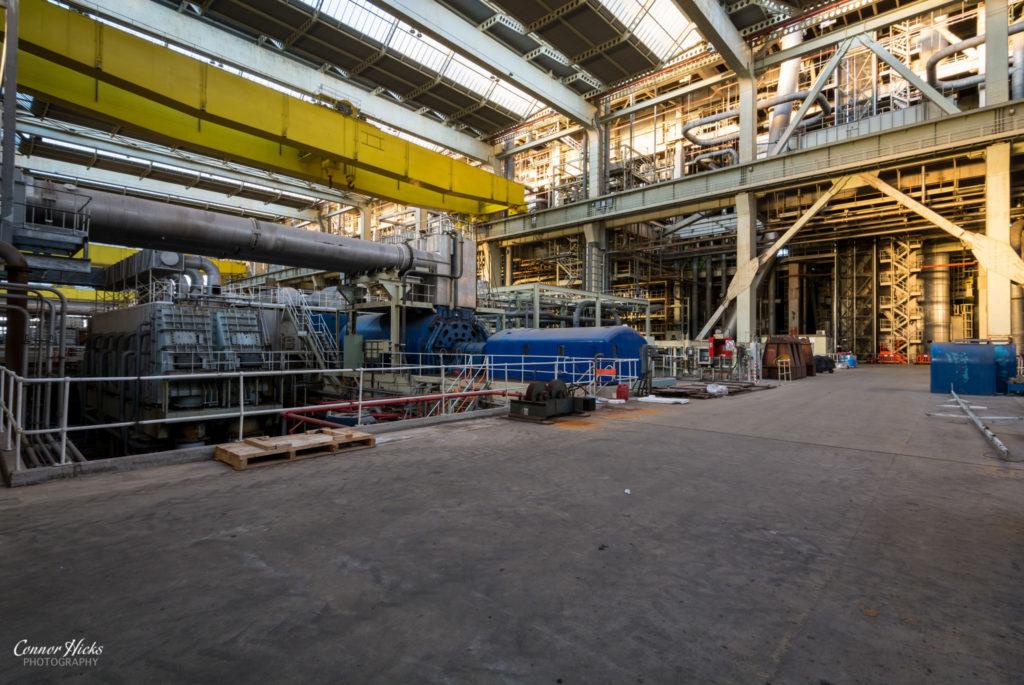 urbex power station turbines 1024x685 Fawley Power Station