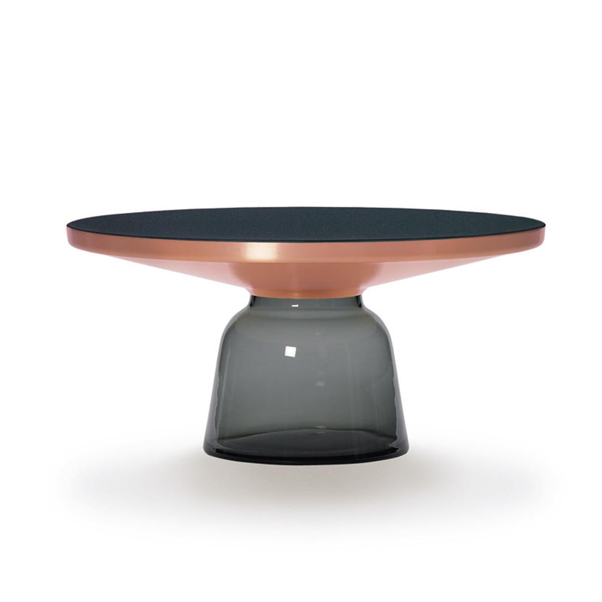 ClassiCon - Bell Coffee Table copper /grey - single picture