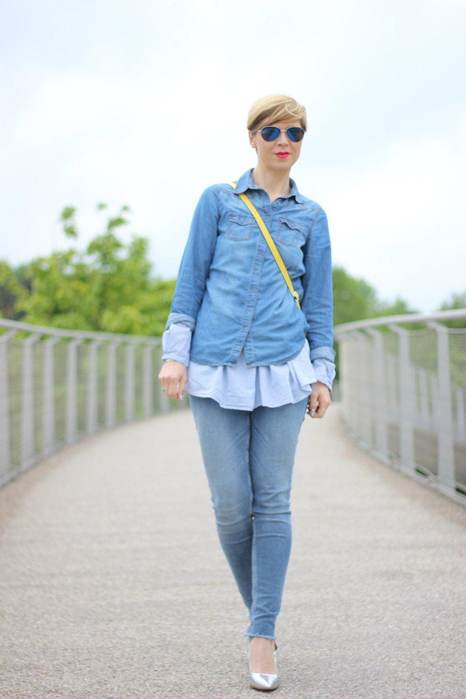 IMG_4733a_longbluse_denimallover_jeanshemd_Jeanshose_Allsaints_H&M_gelb