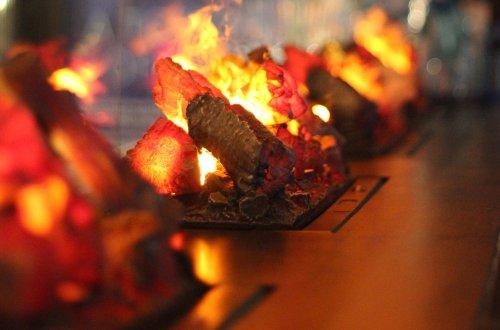 Radisson Blu - Kaminfeuer in der Bar