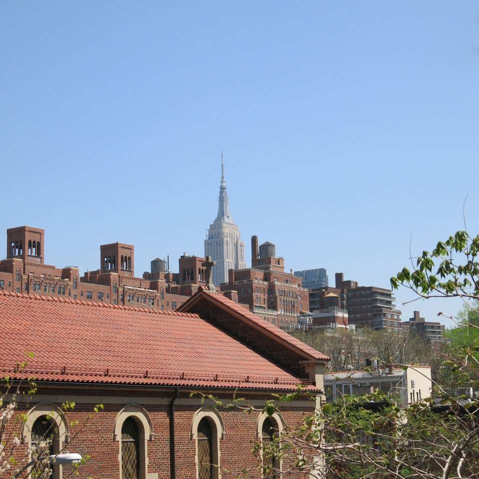 Power-Sightseeing, New York City, Conny Doll, Fashionblog, Empire State Building vom Highline Park