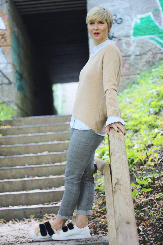 conny-doll-lifestyle: Heute geht's um Streit und um einen Herbstlook mit Karohose,