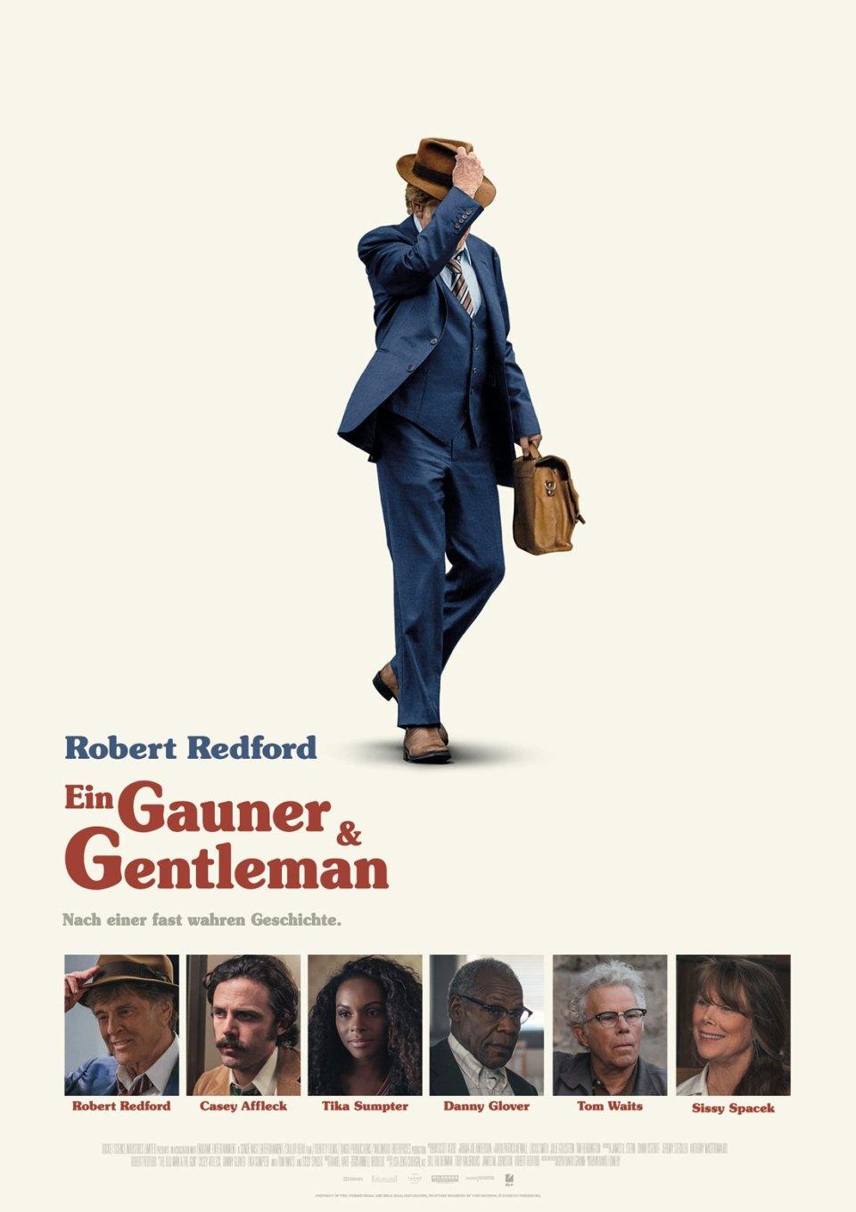 Ein Film übers Leben: Ein Gauner und Gentleman, Filmplakat, Schauspieler